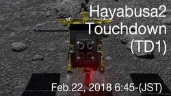 일본의 탐사선 '하야부사 2'가 소행성 '류구' 터치다운에