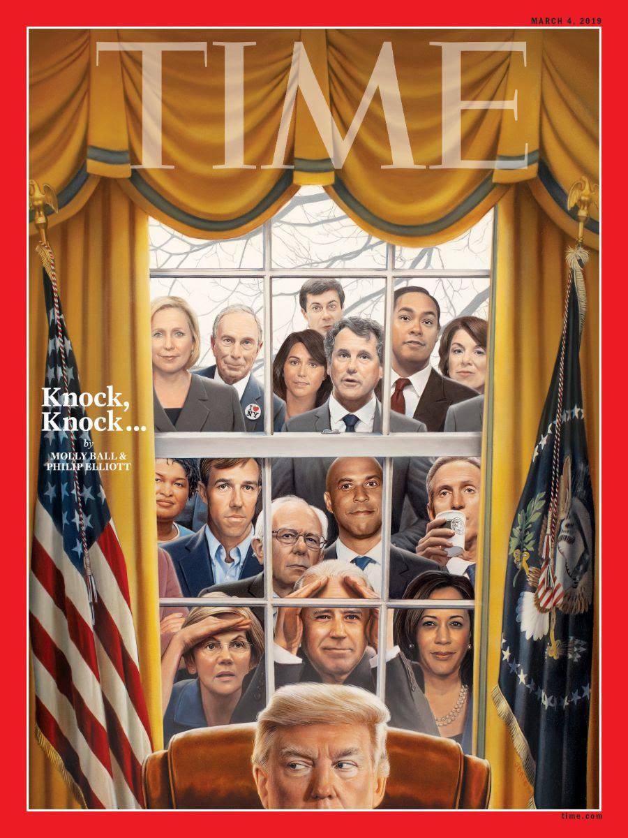 '타임' 표지에 등장한 2020 대선 트럼프의