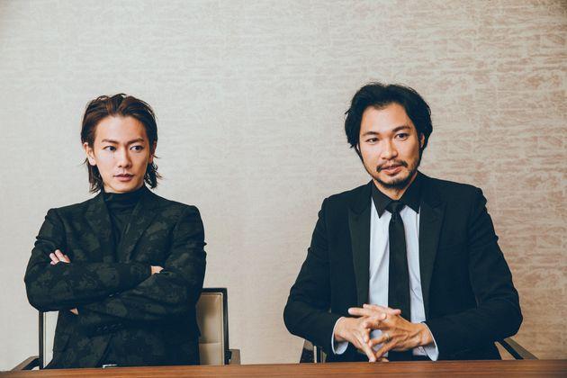 佐藤健さん、青木崇高さん