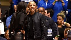 People Are Extremely Into Barack Obama's Bomber Jacket With '44' On The