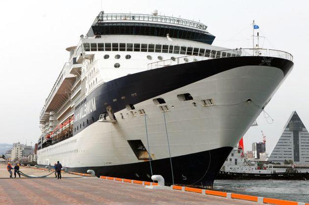 2019年はセレブリティ・ミレニアム(写真)を始め、クイーン・エリザベスなどのクルーズ船が青森港に寄港する予定だ=青森市