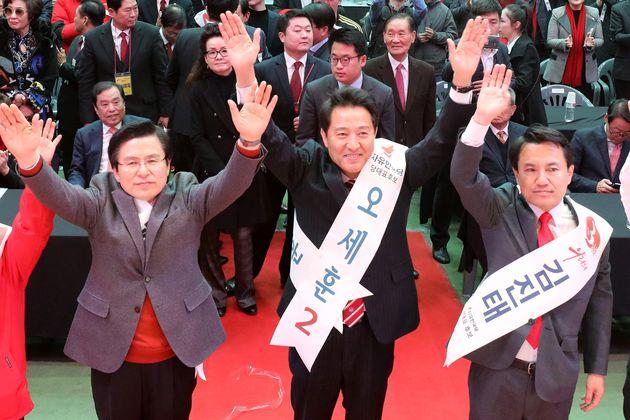 일반국민 한국당대표 선호도 오세훈 37%·황교안 22%·김진태