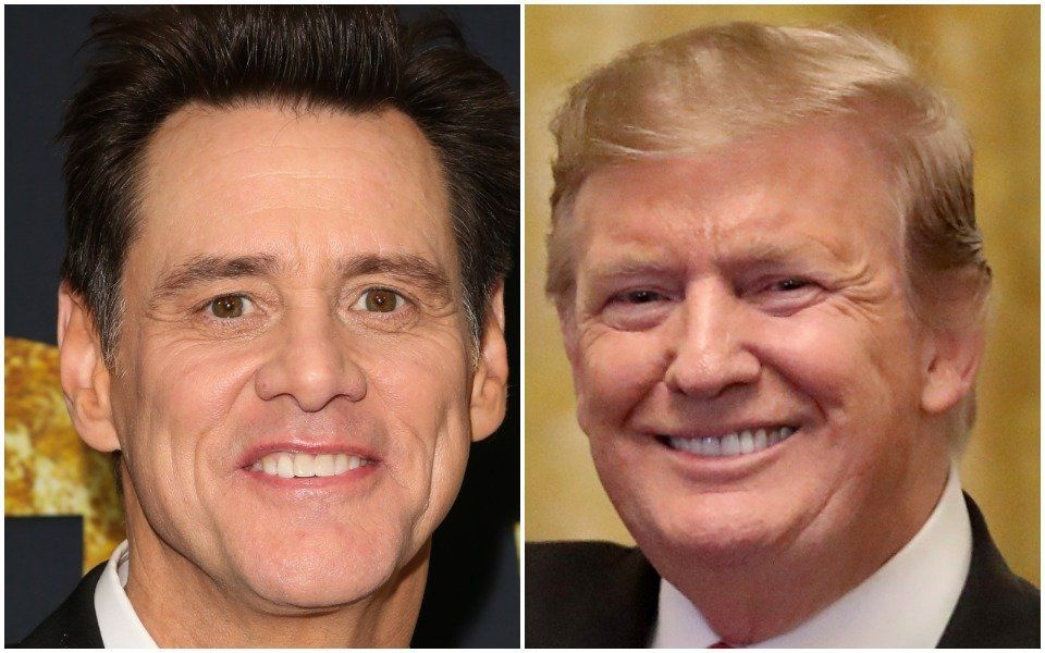 Jim Carrey and Donald Trump