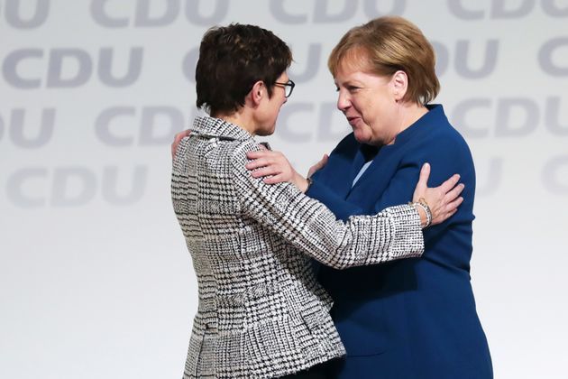 AKK und Angela