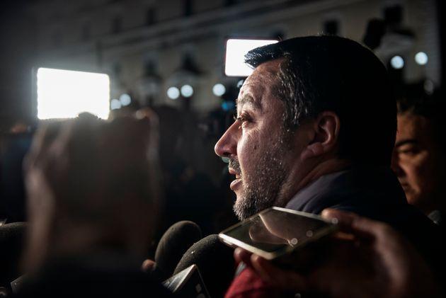 Italiens Innenminister und Vorsitzender der Lega Nord: Matteo