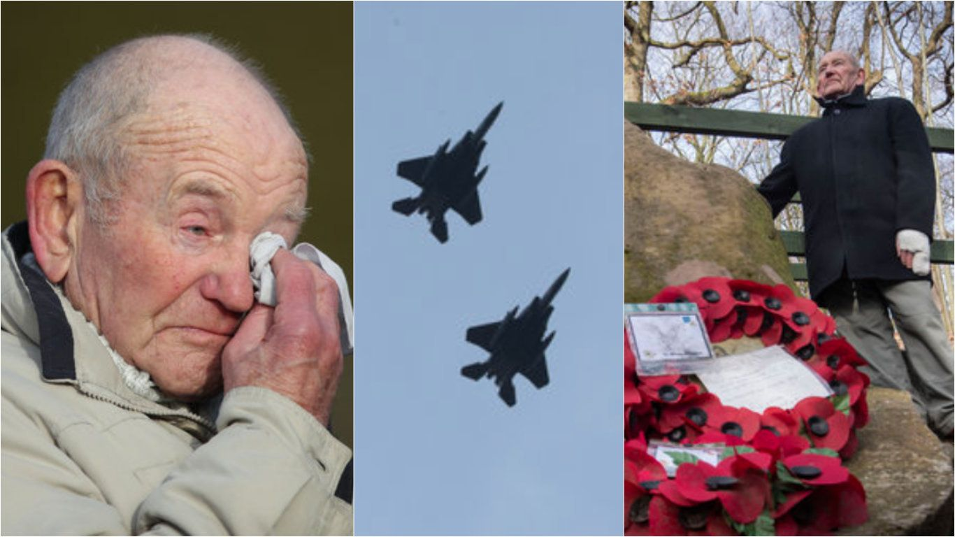 The Amazing Story Behind Why The American Airforce Flew Over Sheffield