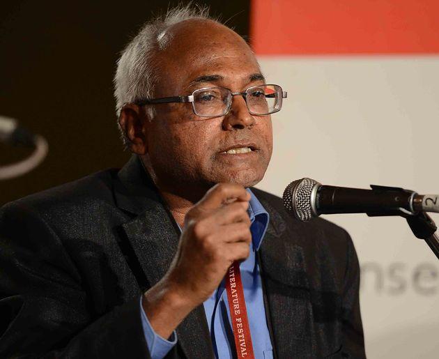 Author Kancha Ilaiah Shepherd speaks at the Jaipur Literature Festival on 28 January