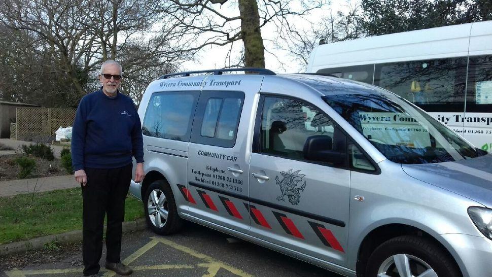 Alan Burgess, a volunteer for Wyvern Community