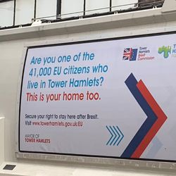 London Council Uses Bin Lorries To Tell EU Residents 'This Is Your
