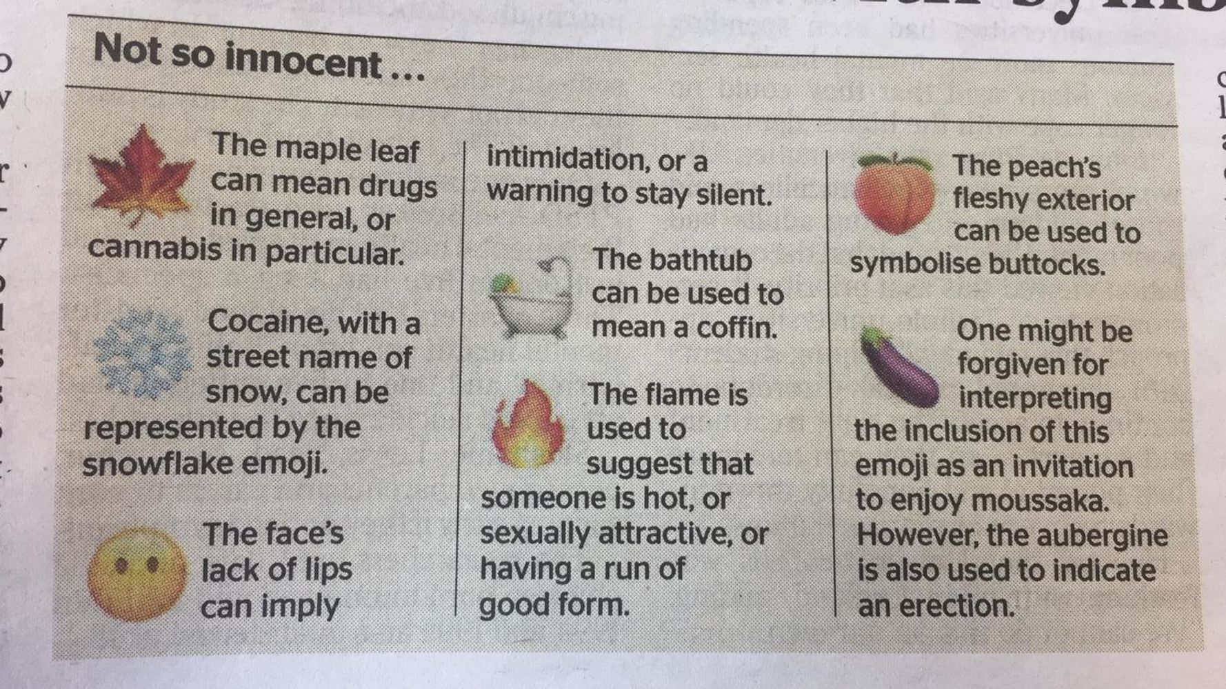 The Times Emoji Explainer Is Our Favourite Thing That