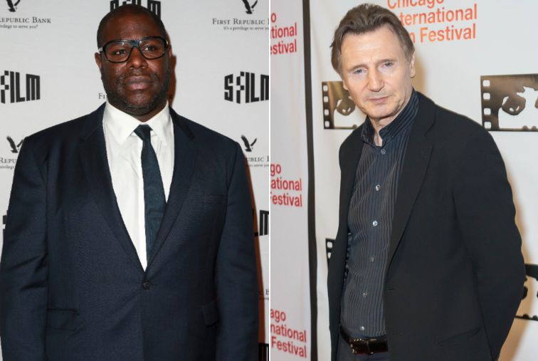 'DISTURBED': Steve McQueen Hits Out At Liam Neeson's Rape Revenge