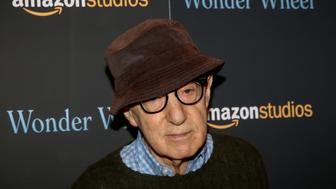 "Director Woody Allen arrives for a screening of the film ""Wonder Wheel"" in New York, U.S., November 14, 2017.   REUTERS/Brendan McDermid"