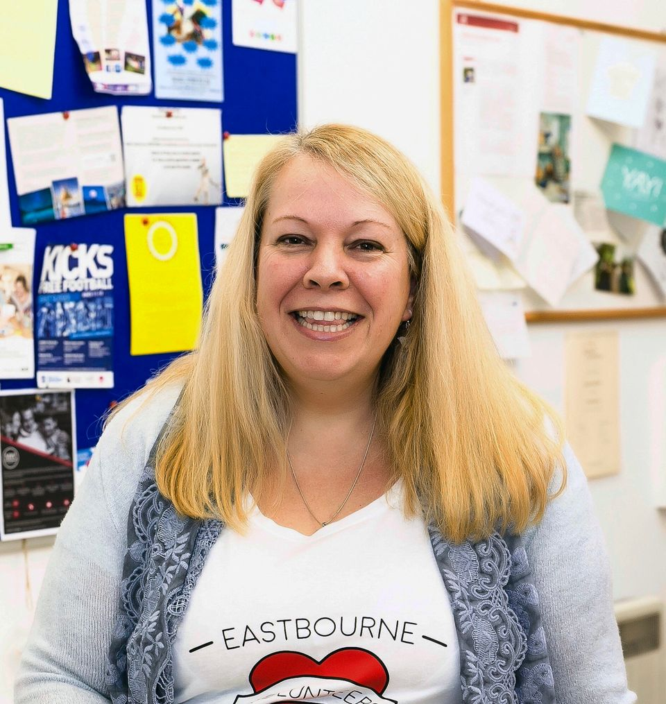 Campaigner Helen Burton is trying to re-open a local library in East Sussex after it was shut as part...