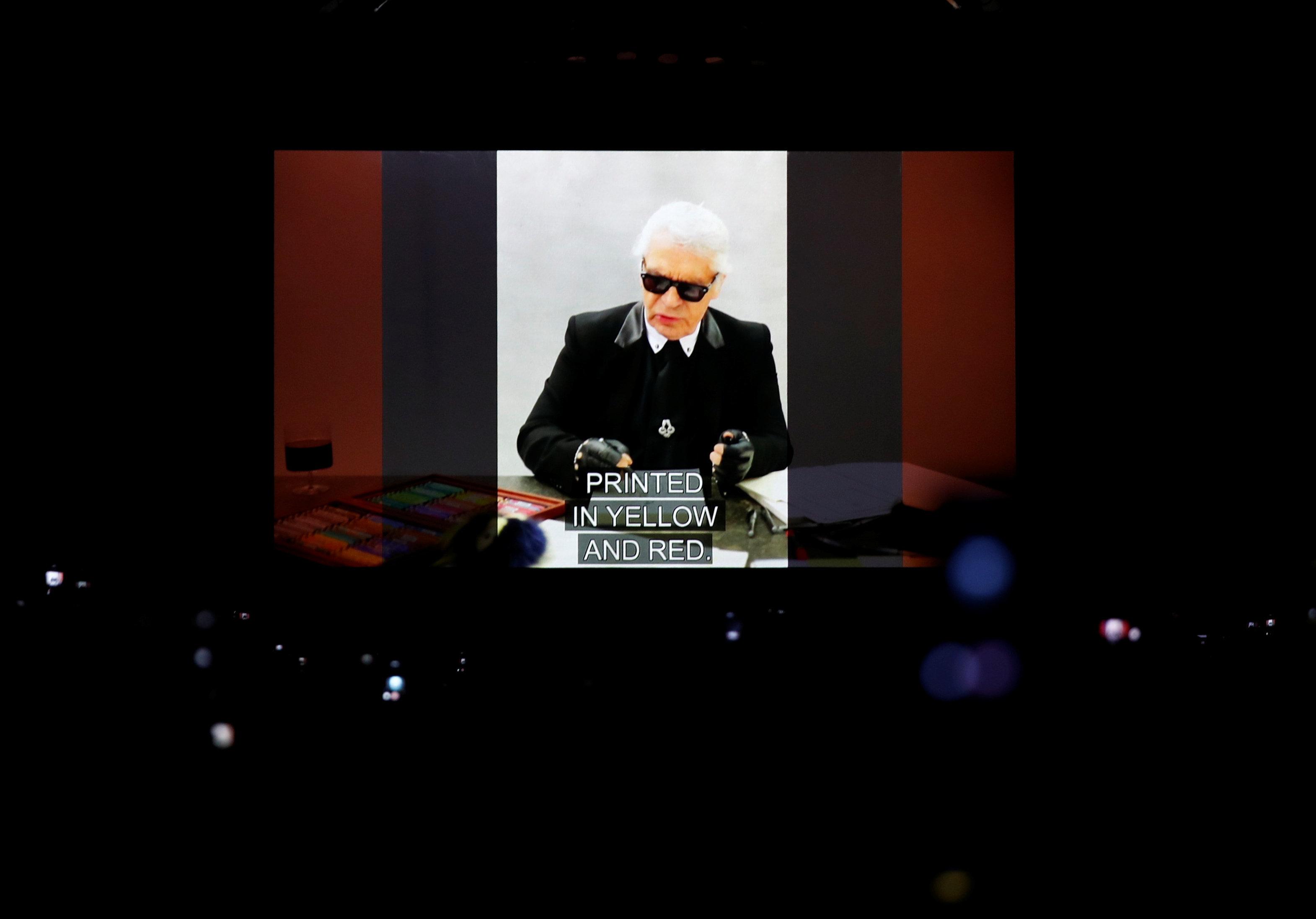 Ο Καρλ Λάγκερφελντ αποτεφρώθηκε - «Τελετή αποχαιρετισμού» ανήγγειλε η Chanel
