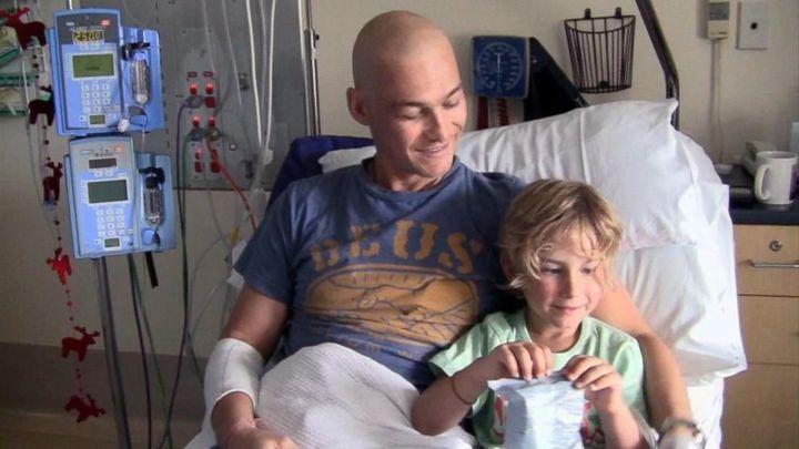 Documentário mostra a história do ator Andy Whitfield após descobrir um câncer.