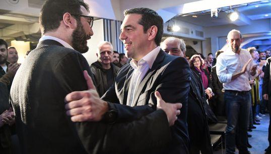 Τσίπρας: Ο Νάσος Ηλιόπουλος θα τινάξει τη μπάνκα στον