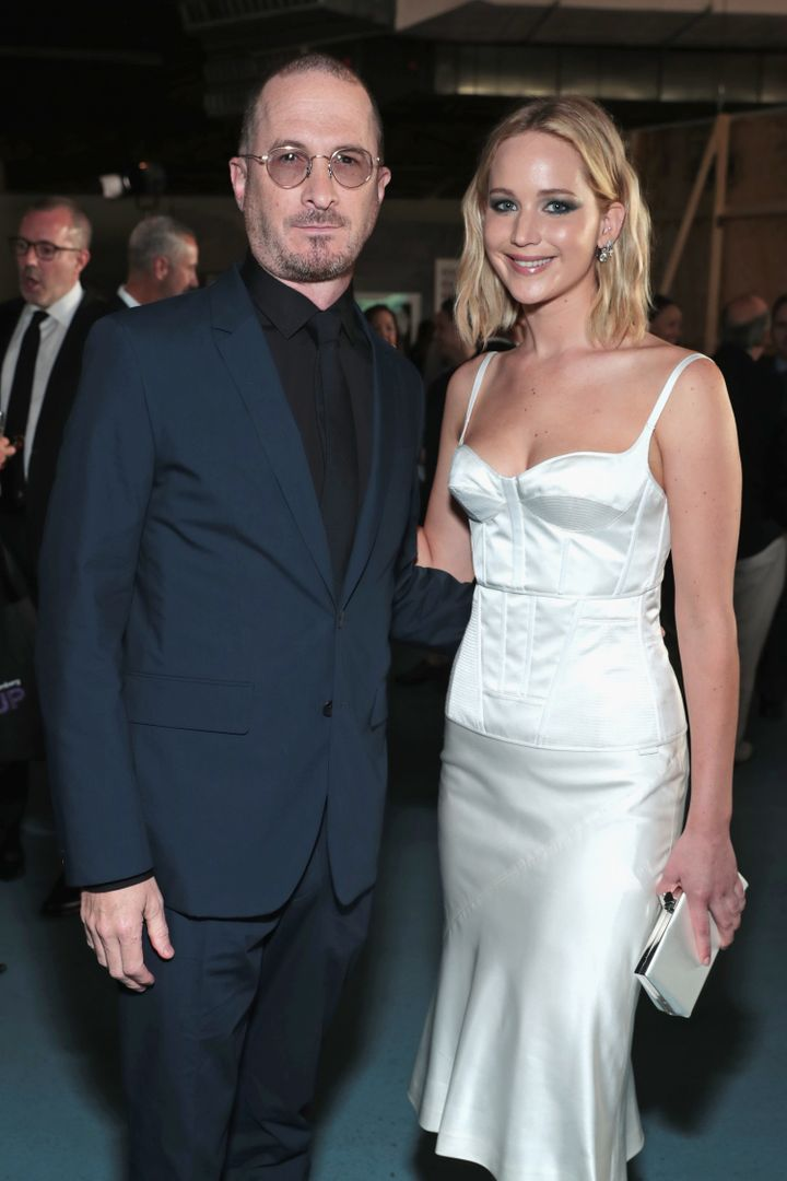 Darren Aronofsky and Jennifer Lawrence attend the BAM Gala 2018 on May 30, 2018, in New York City.