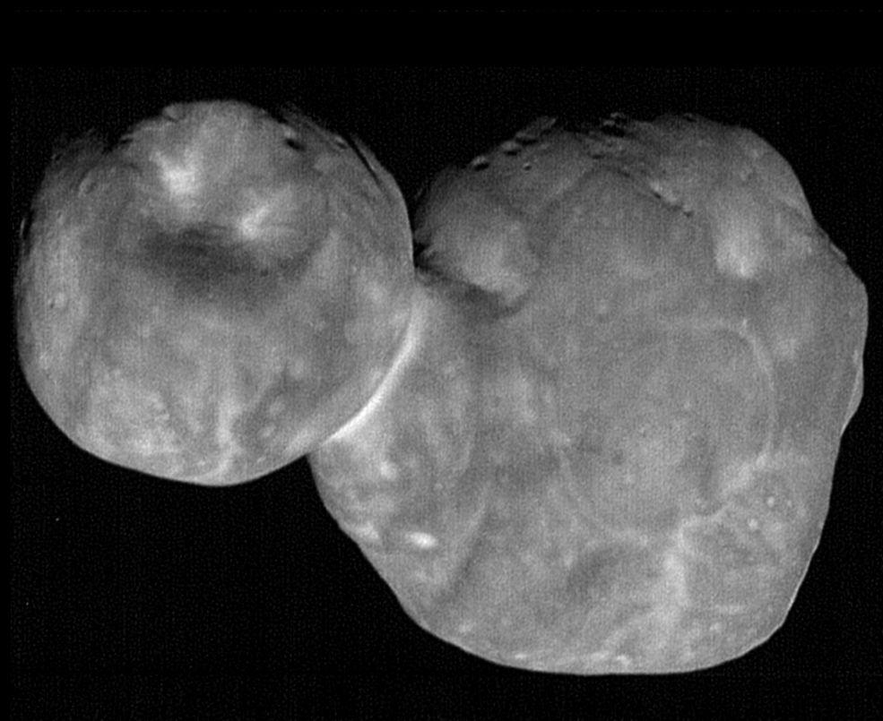 NASAが公開したウルティマ・トゥーレの画像