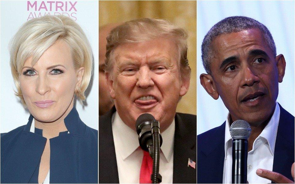 Mika, Trump and Obama