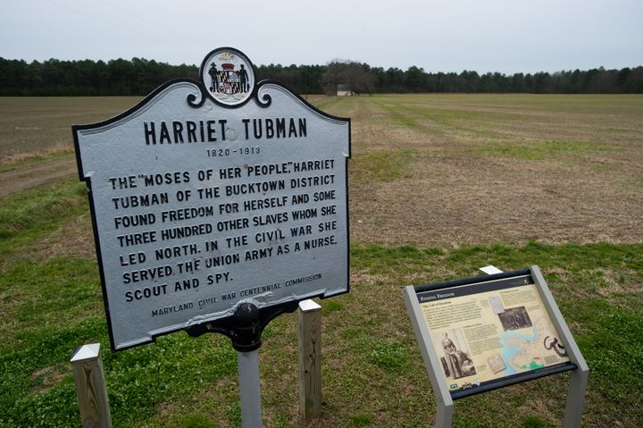 Harriet Tubman historic site in Dorchester County, Maryland.