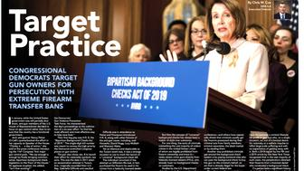 NRA posts 'Target Practice' headline next to Pelosi Photo