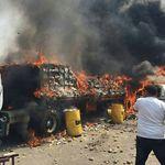 Confrontos deixam 285 feridos na fronteira de Venezuela e
