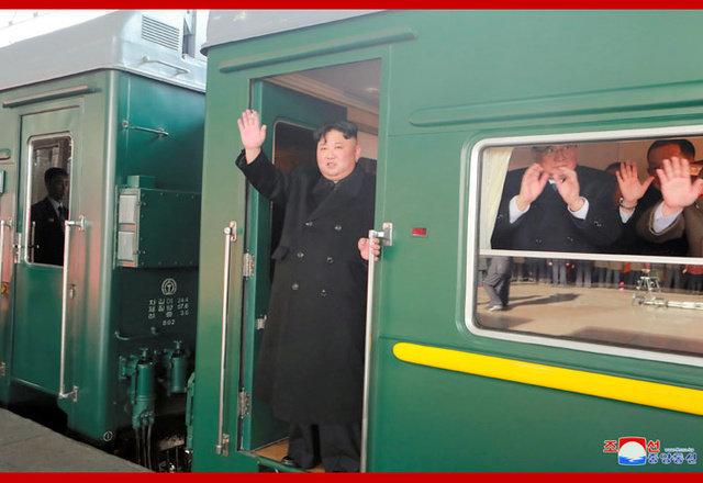 金正恩氏、23日午後に平壌出発 朝鮮中央通信が伝える