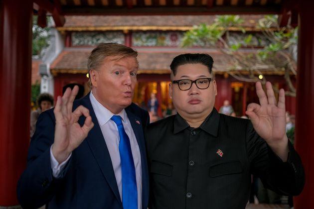 '가짜 김정은'이 북미회담이 열릴 베트남 하노이를 방문했다가 호텔방에