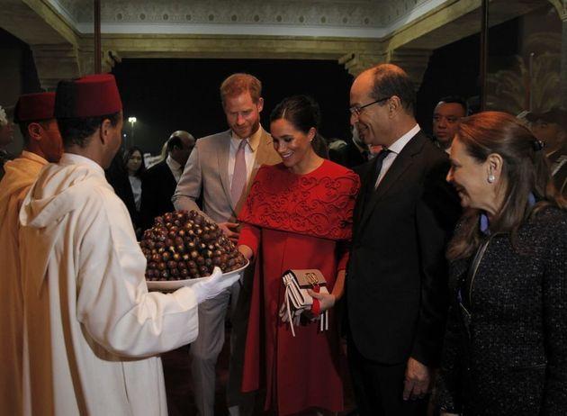 L'arrivée du prince Harry et de Meghan Markle au Maroc en