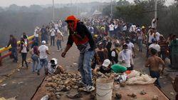 Au Venezuela, l'aide humanitaire rebrousse chemin aux frontières, des