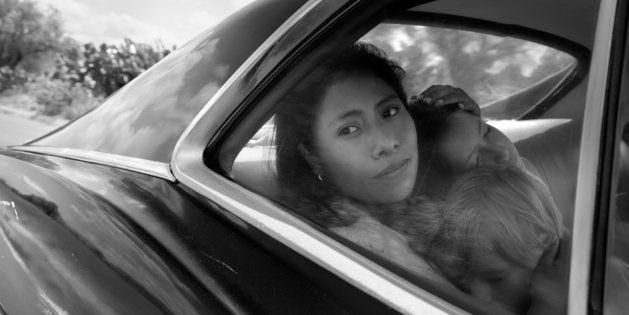 L'actrice Yalitza Aparicio dans le film