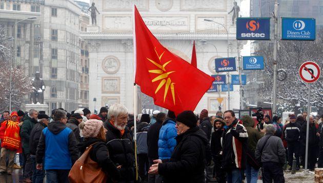 ΝΔ: Ο Τσίπρας να διαμηνύσει πως ζήτημα «μακεδονικής» μειονότητας δεν