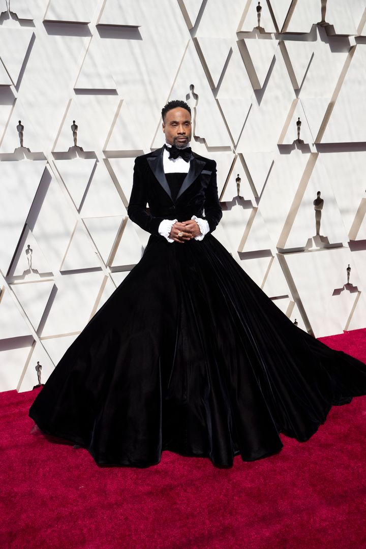 Billy Porter stunned in Christian Siriano.