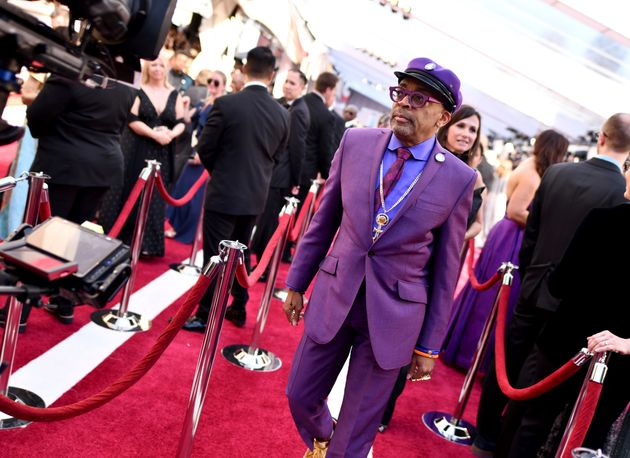 Spike Lee arrives at the Oscars on Sunday, Feb. 24, 2019, at the Dolby Theatre in Los Angeles. (Photo...