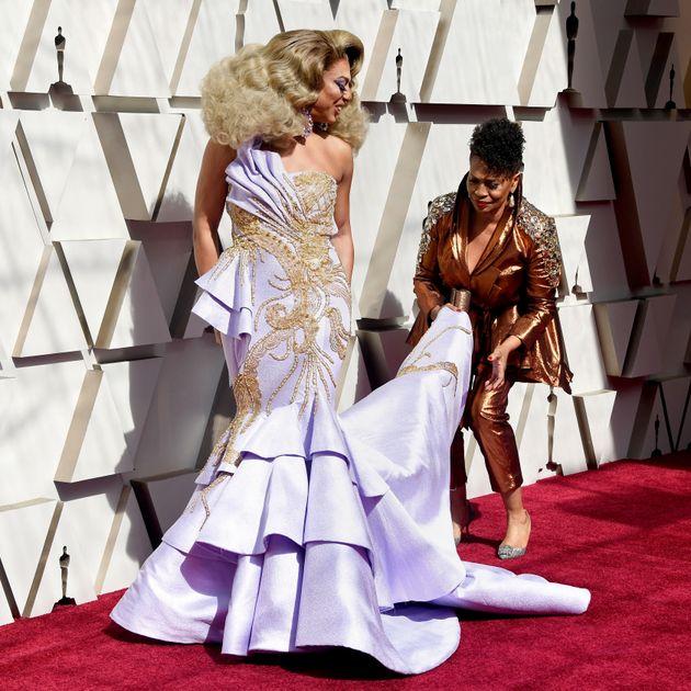 'RuPaul's Drag Race' Stars Hit Oscars Red Carpet In Epic