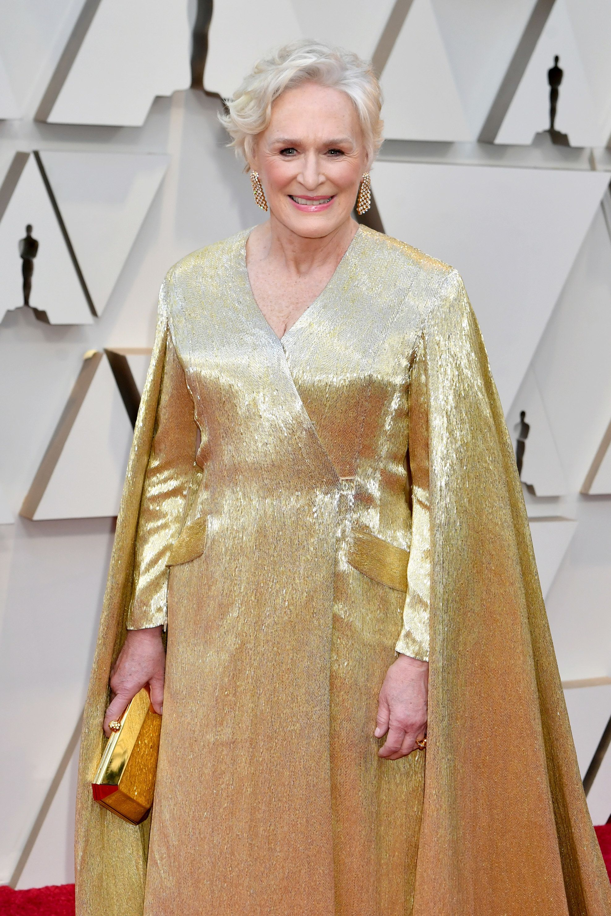 HOLLYWOOD, CA - FEBRUARY 24:  Glenn Close attends the 91st Annual Academy Awards at Hollywood and Highland on February 24, 2019 in Hollywood, California.  (Photo by Jeff Kravitz/FilmMagic)