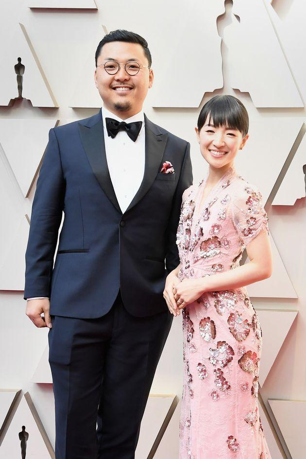 第91回アカデミー賞授賞式に夫婦で出席した、片付けコンサルタントの「こんまり」こと近藤麻理恵さん