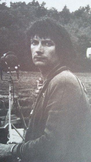 사진거장 베르나르 포콩. 1970년대 작업중 찍은 작가의