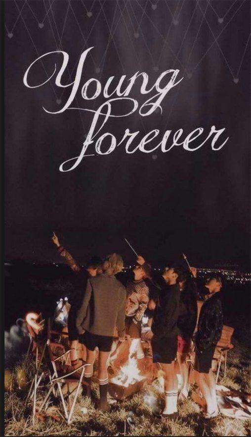 BTS앨범 '영 포에버'에 들어간 사진화보집의 한