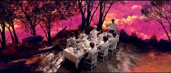 BTS의 앨범 '윙즈'의 타이틀곡 '피땀 눈물'의 뮤직비디오 동영상 가운데 일부분. 사진거장 베르나르 포콩은 이 영상이 자신의 1978년작인 '여름방학'연작의...