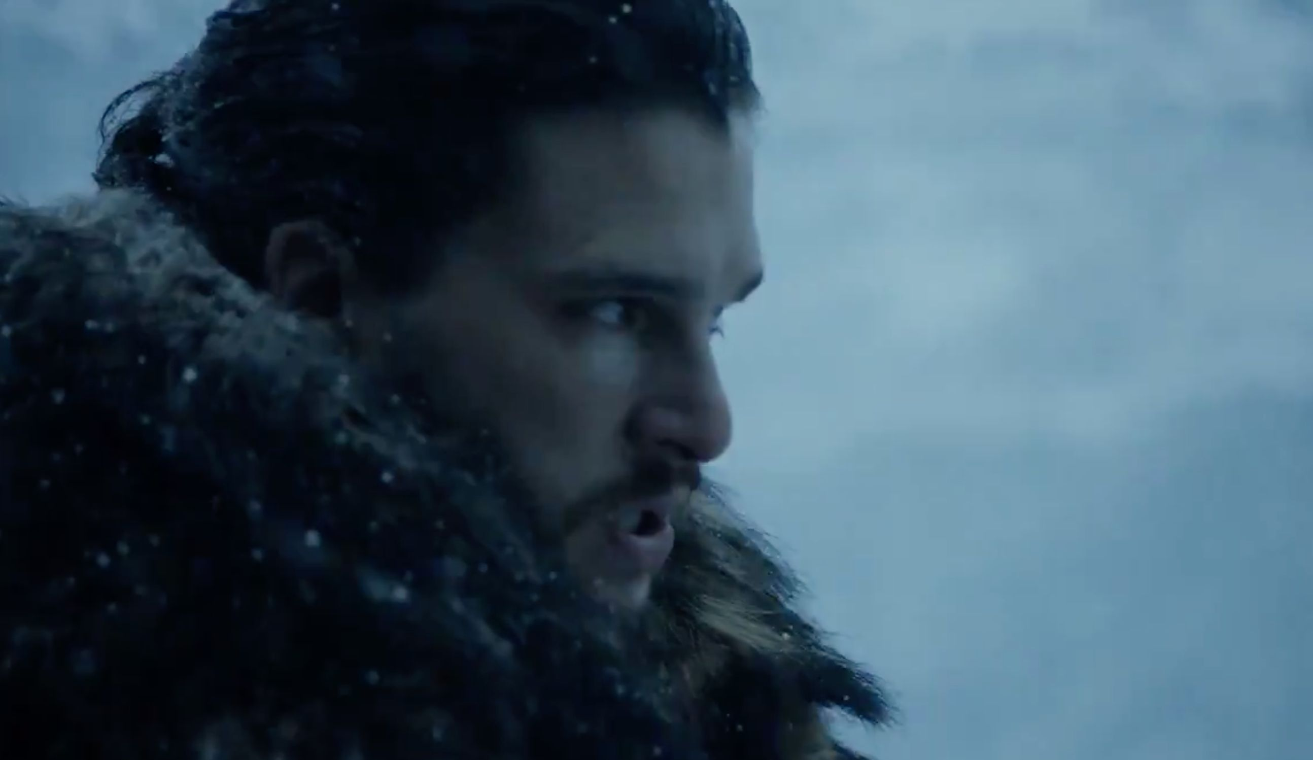 Warg are you doing, Jon Snow?