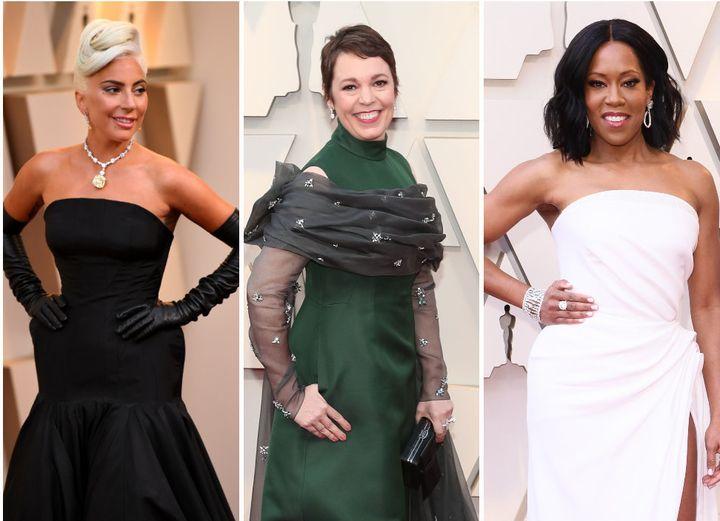 Lady Gaga, Olivia Colman and Regina King