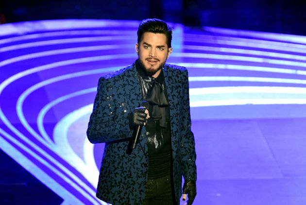 "Adam Lambert opened the 2019 Academy Awards with a medley of ""We Will Rock You"" and..."