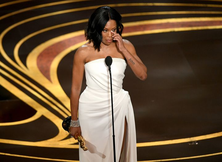 Regina King wins the Oscar for Actress In A Supporting Role.