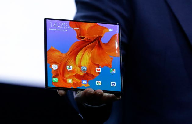 삼성전자에 이어 화웨이도 폴더블폰을