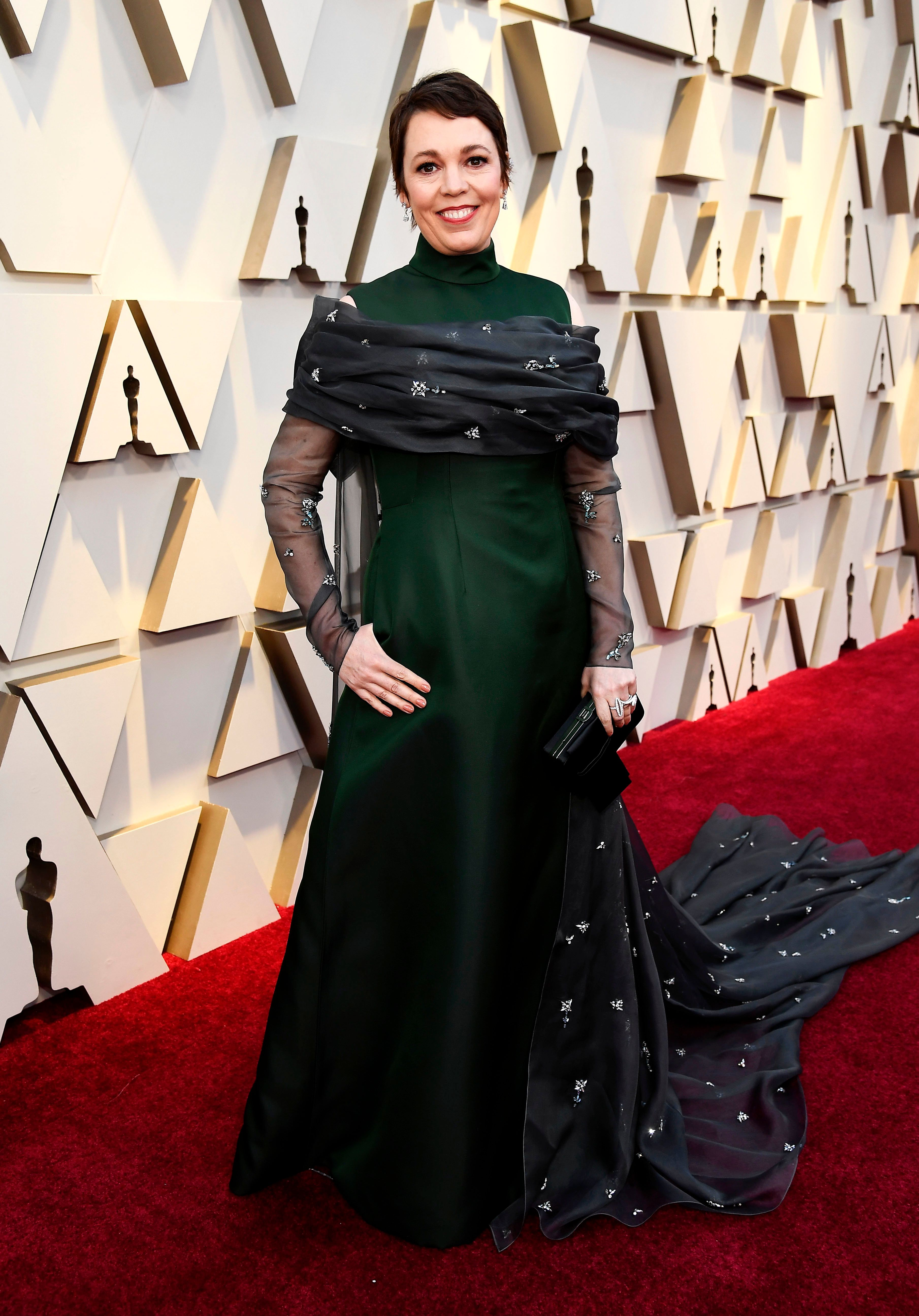 HOLLYWOOD, CALIFORNIA - FEBRUARY 24: Olivia Colman attends the 91st Annual Academy Awards at Hollywood and Highland on February 24, 2019 in Hollywood, California. (Photo by Kevork Djansezian/Getty Images)