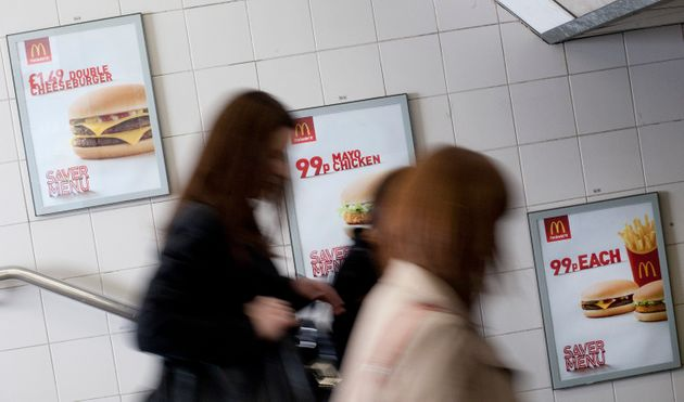 Adverts For Junk Food Are Banned On London Transport From