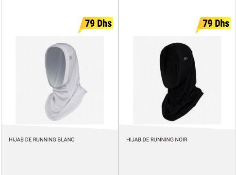 Décathlon Maroc lance son hijab pour sportives (et crée la polémique en