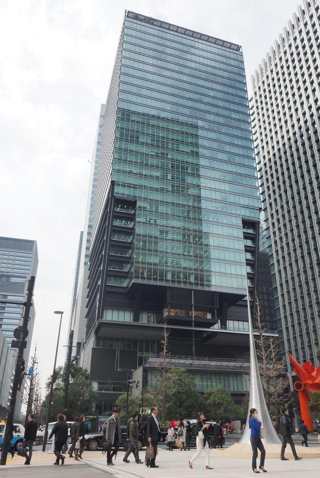 産経新聞東京本社が入居する東京サンケイビル