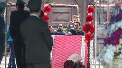 김정은 도착 앞둔 베트남 동당역에 레드카펫이